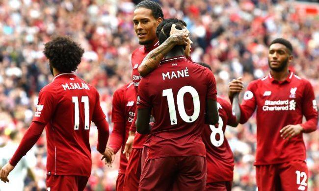 Liverpool berada di puncak klasemen, memungkinkan mereka raih juara.