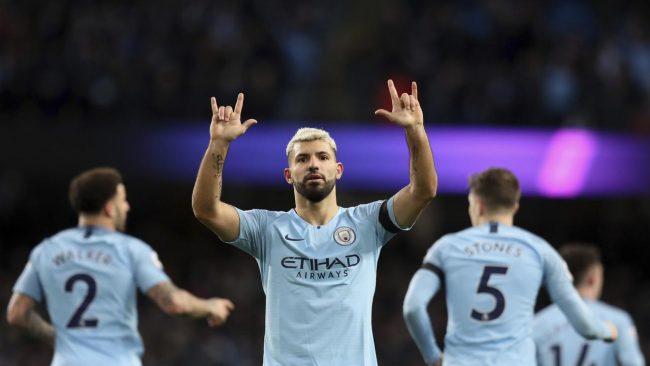 Sergio Aguero tampil dengan apik saat timnya Manchester City berhasil menalukkan Chelsea dengan skor akhir 6 - 0 dalam laga lanjutan Liga Inggris