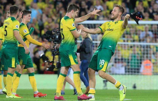 Kekalahan Manchester City atas Norwich City (2-3)