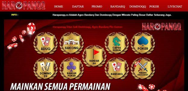 Harapanqq Situs Judi Dominoqq, Agen Bandarq Pkv Games